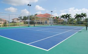Mallorca Villas Tennis Court