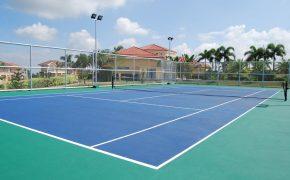 Mallorca Villas Tennis Court